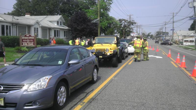 SQUAD 81 HANDLES 5 VEHICLE MVA
