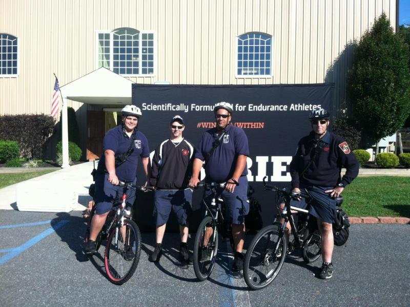 GLENDORA BIKE TEAMS PROVIDES EMS SUPPORT ALONG 5K RUN ROUTE